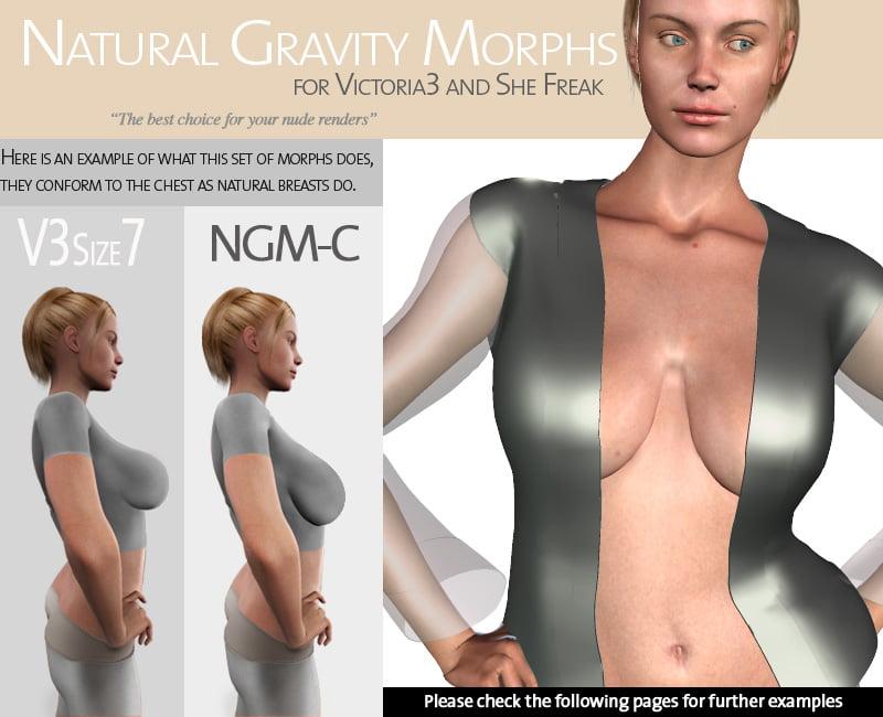 Natural Gravity Morphs for V3