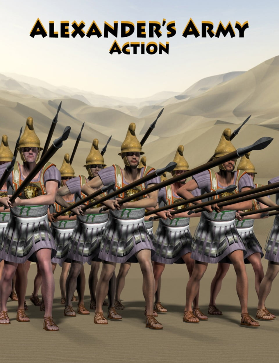 Alexander's Army Action