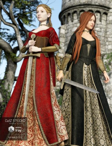 Arthurian Outfit Textures