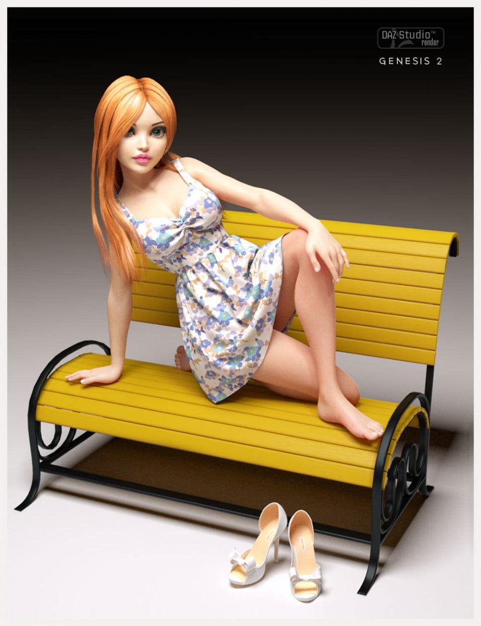 Cute3D's Beautiful Skirt
