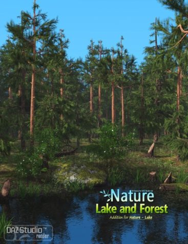 Nature - Lake and Forest