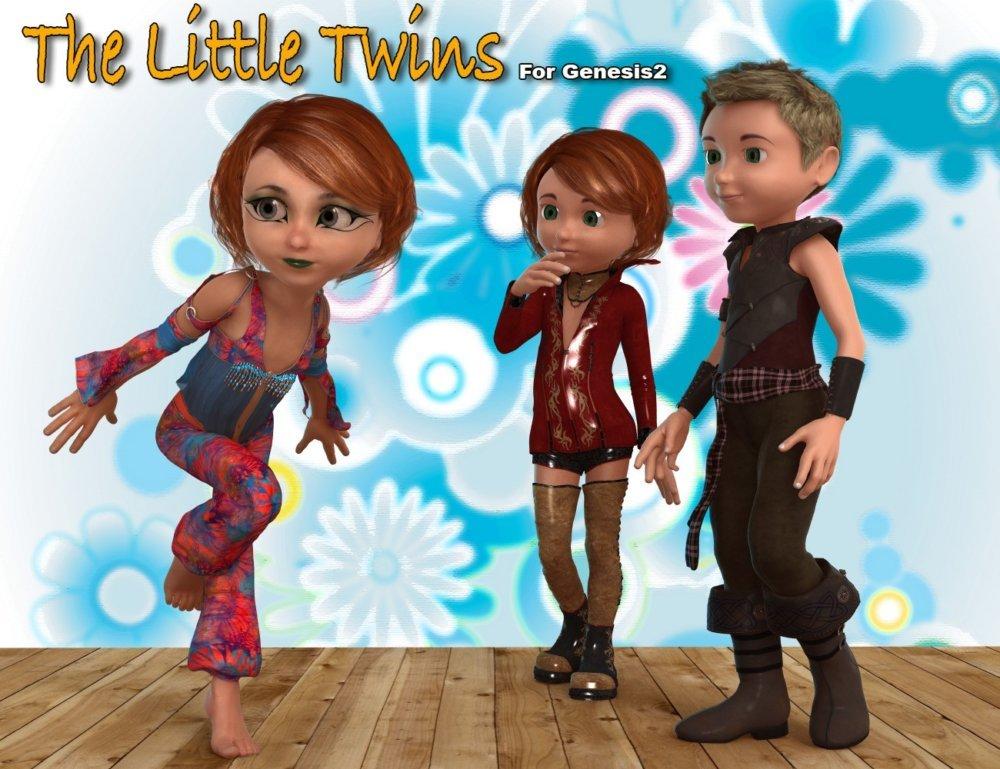 06-the-little-twins-daz3d