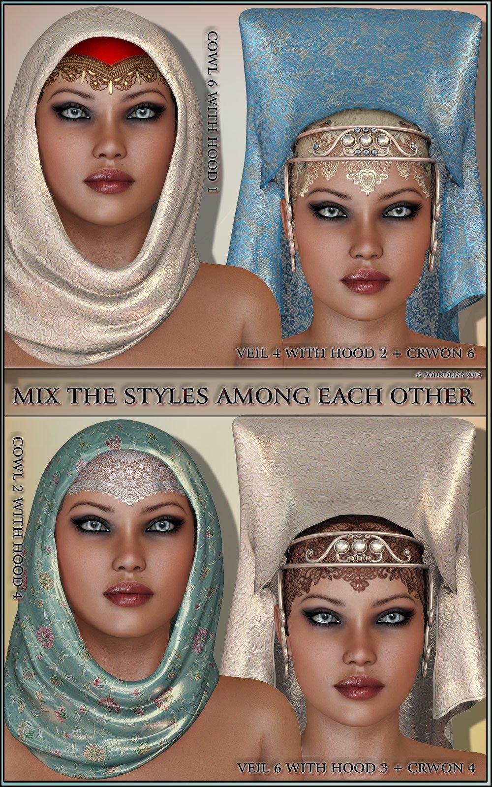 Oriental Fascination for Headdresses Grace
