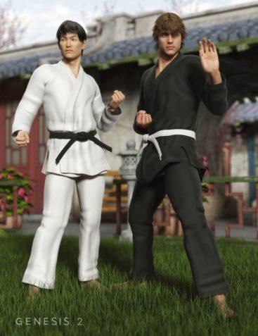 Karate Gi for Genesis 2 Male(s)