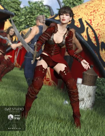Red Talon for Genesis 3 Female(s) and Genesis 2 Female(s)