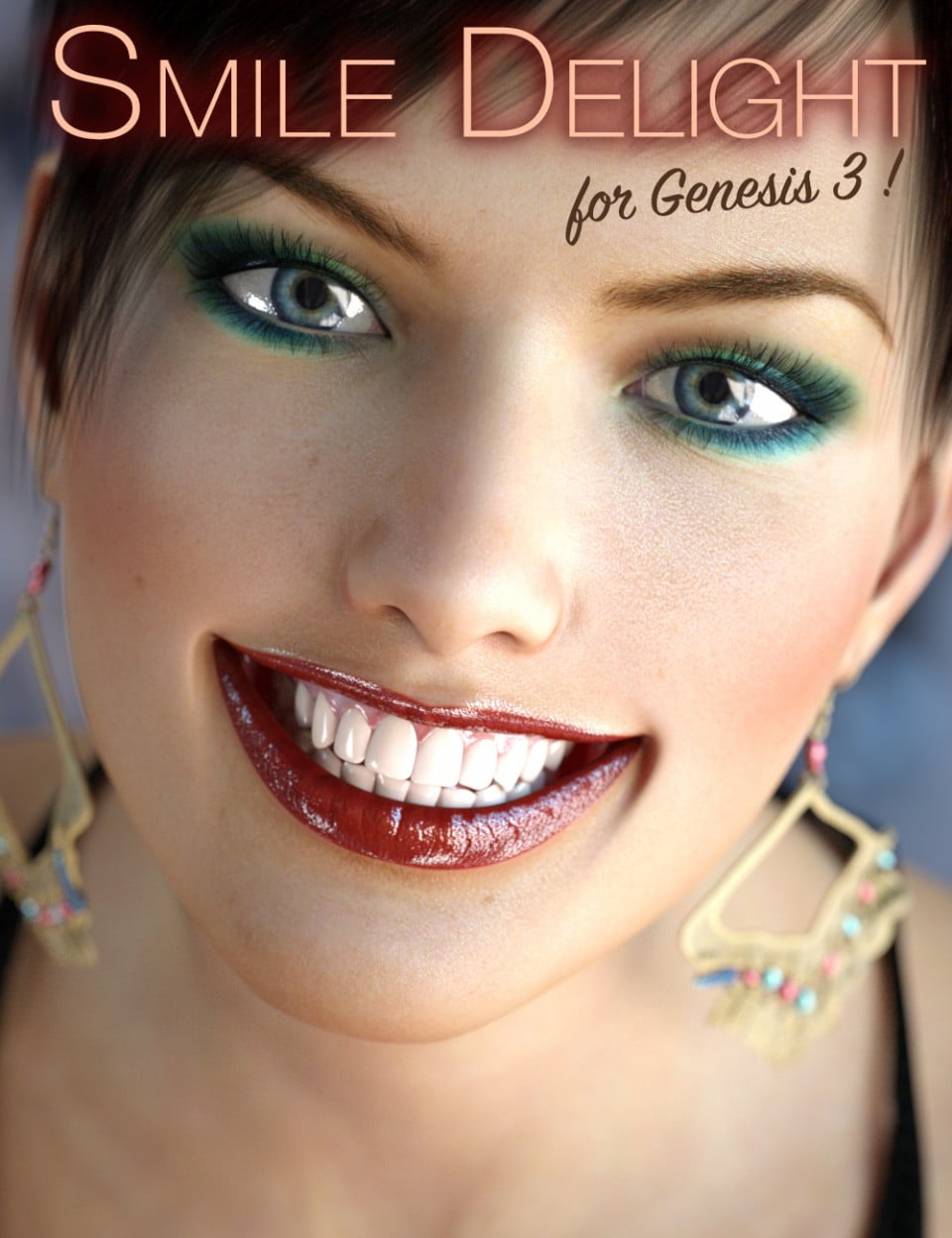 Smile Delight for Genesis 3 Female(s)