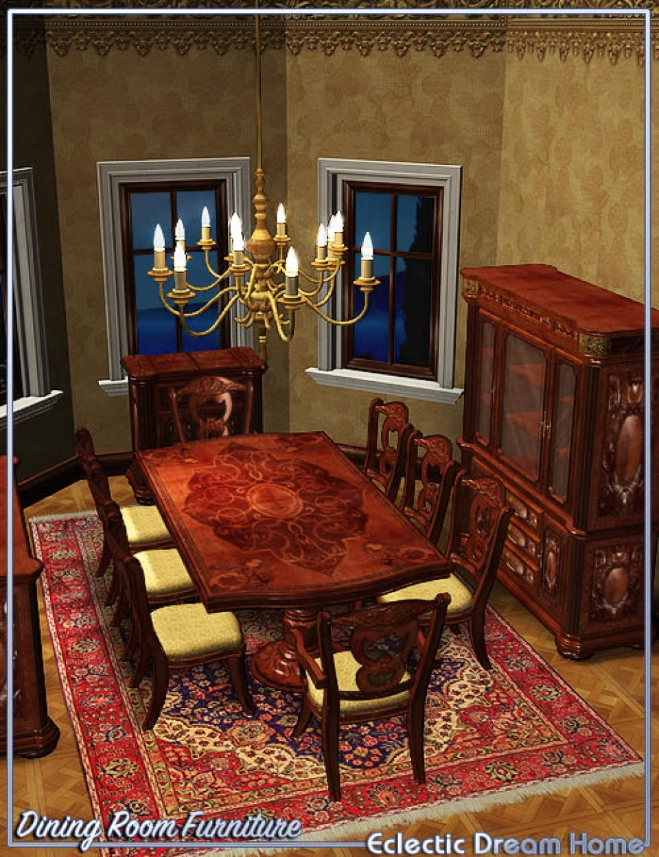 Dream Home: Dining Room Furniture Eclectic  [UPDATED]