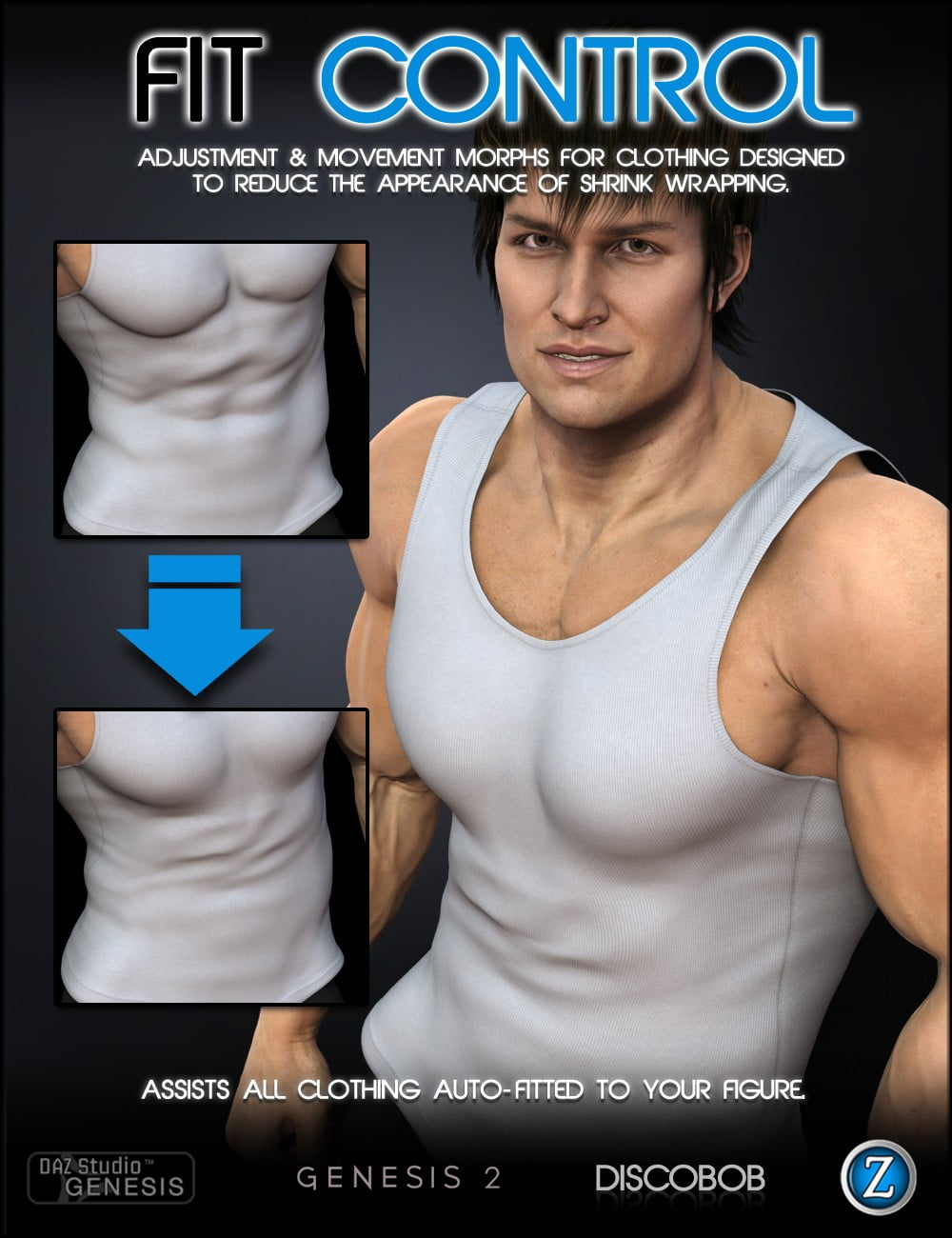 Fit Control for Genesis and Genesis 2 Male(s)