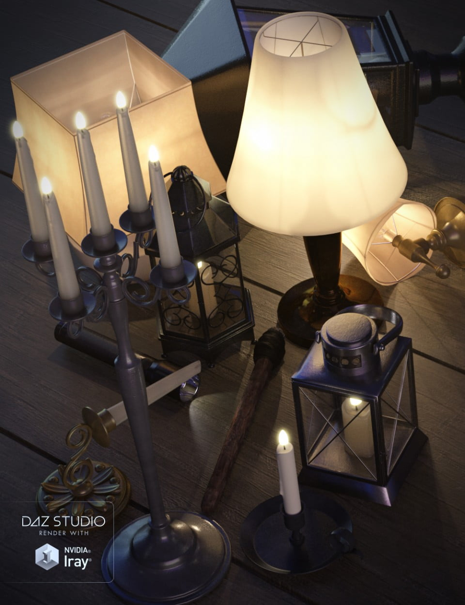 Lighting Collection Prop Set