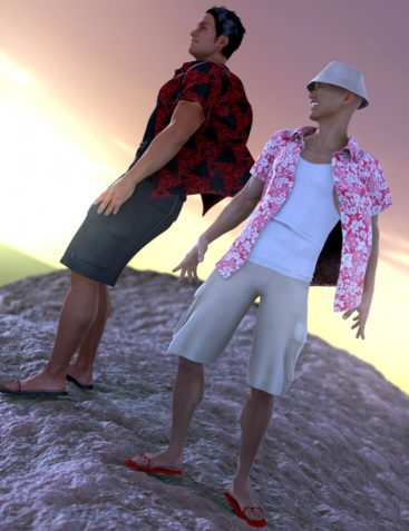 Cutting Loose for Genesis 2 Male(s)