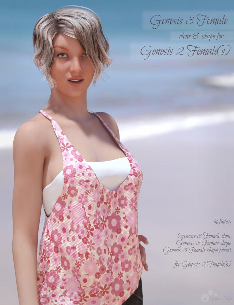 Genesis 3 Female for Genesis 2 Female(s)