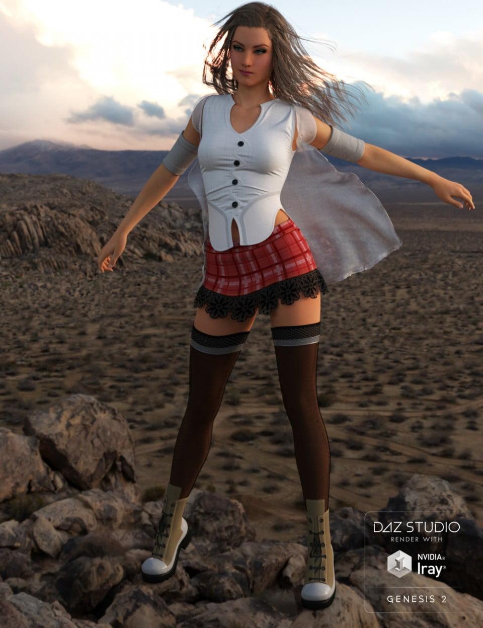 Unsung Heroine for Genesis 3 Female(s) and Genesis 2 Female(s)