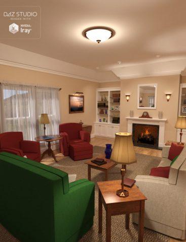 Simple Living - Living Room