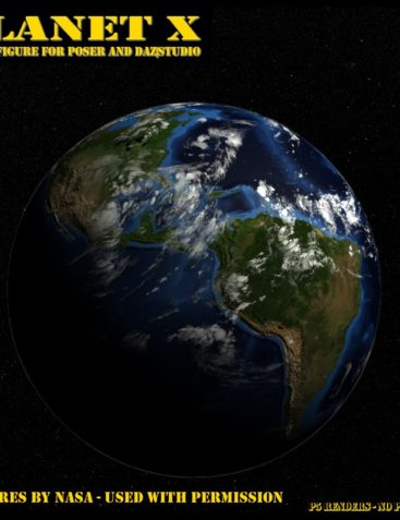 Planet X for Poser and Daz Studio