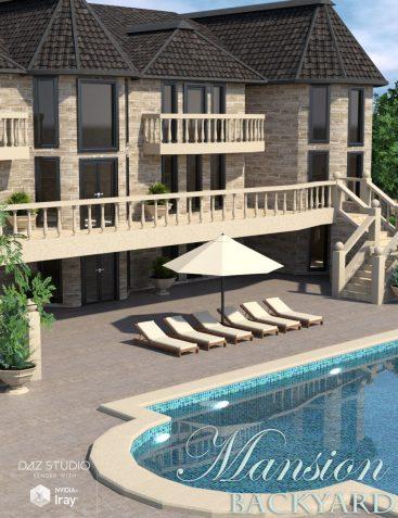 Mansion Backyard