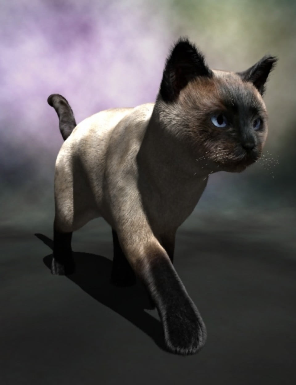 Real Fur for the Millennium Cat