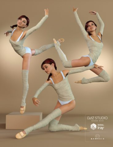 Classical Dance Poses for Genesis 3 Female(s)