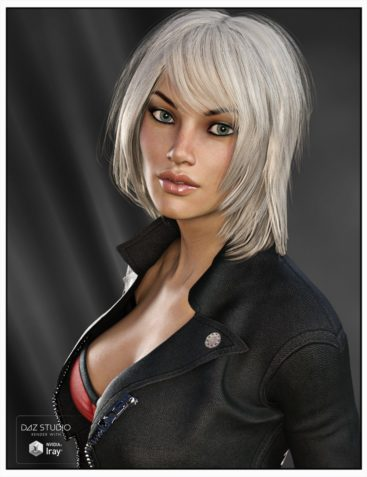 Kiva Hair for Genesis 3 Female(s), Genesis 2 Female(s) and Victoria 4