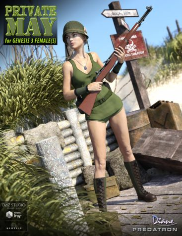 Private May for Genesis 3 Female(s)