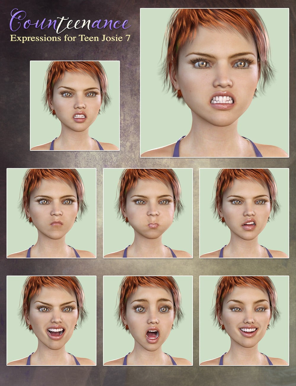 01-counteenance-expressions-for-teen-josie-7-and-genesis-3-females-daz3d