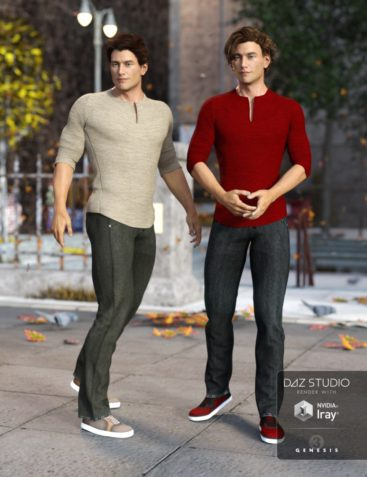 Laid Back Outfit Textures