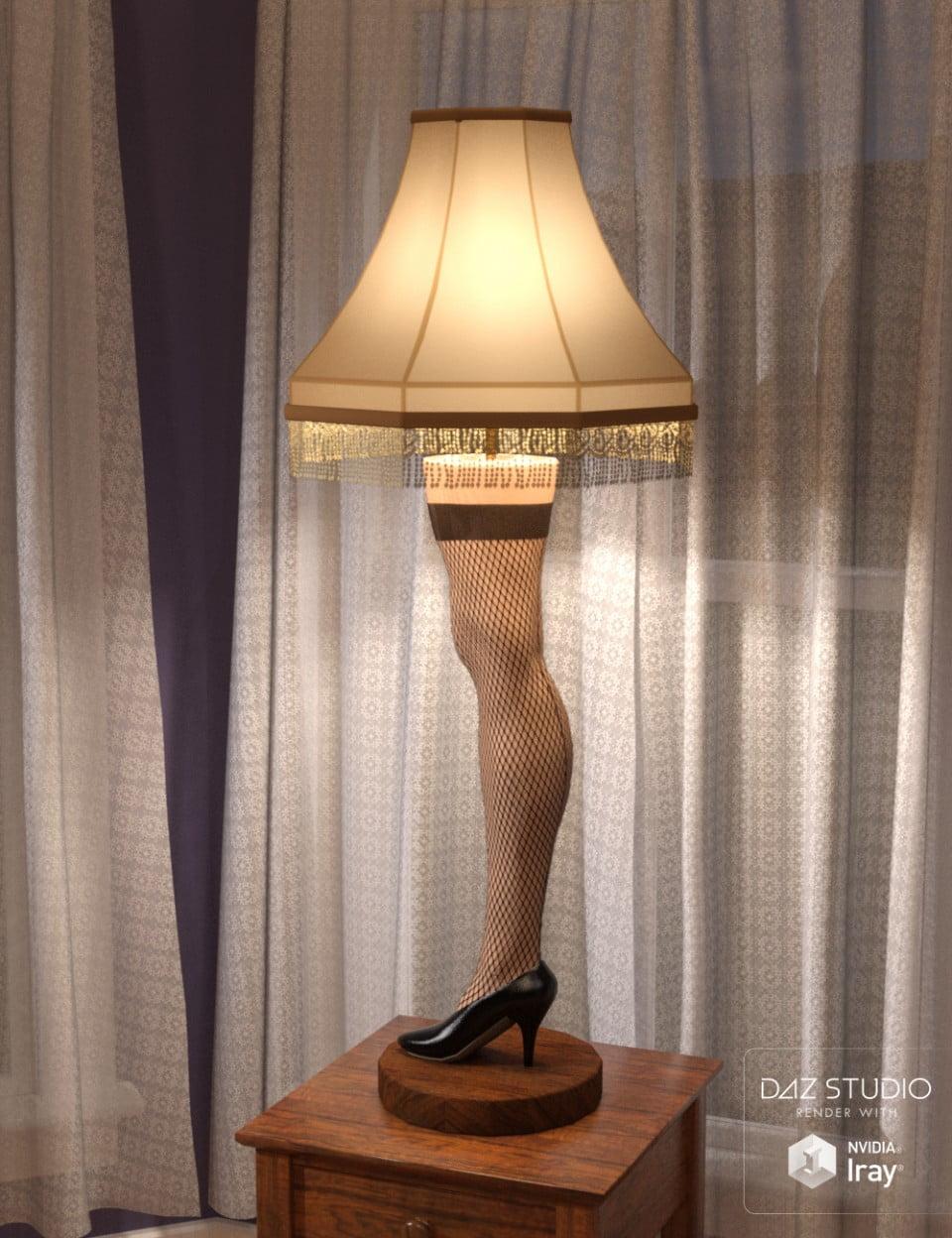 Leg Lamp Iray