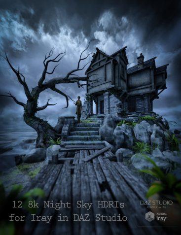 Skies of iRadiance - Night Sky HDRIs for Iray