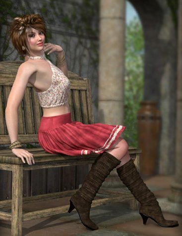 Always Summer Outfit & FREE Lydia Boots