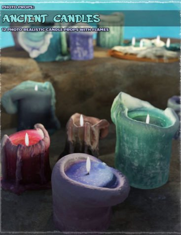Photo Props: Ancient Candles