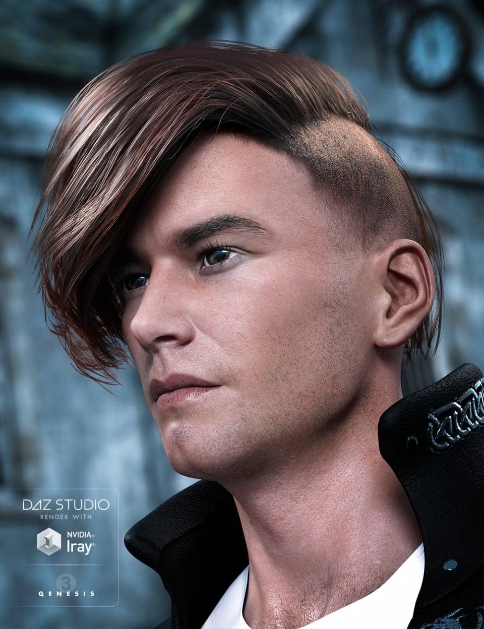Edit Hair for Genesis 3 Male(s)