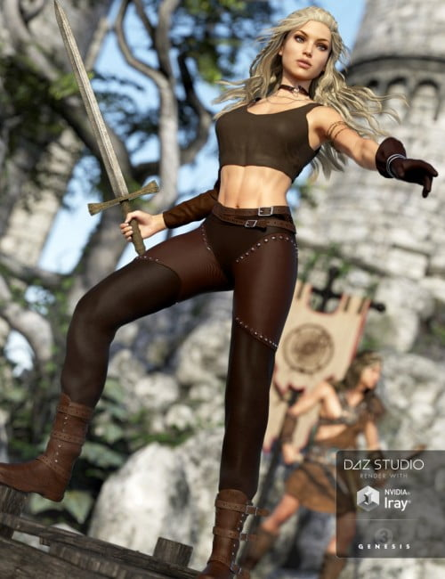 Adventure Girl Outfit for Genesis 3 Female(s)