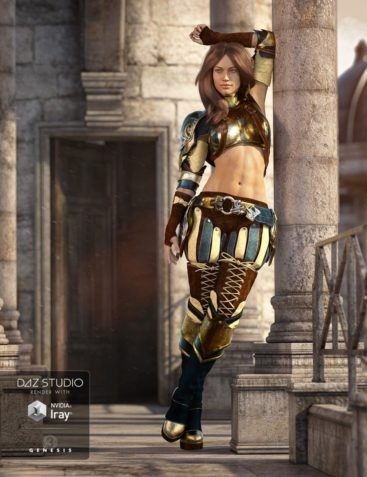 Solaris Outfit for Genesis 3 Female(s)