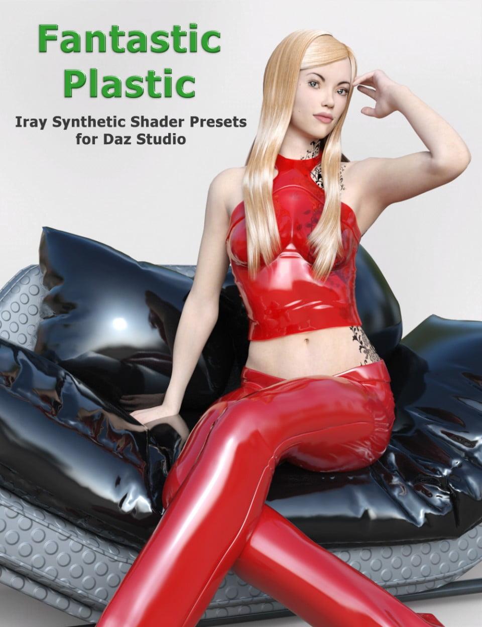 E1 Fantastic Plastic – Iray Synthetic Shader Presets for Daz Studio