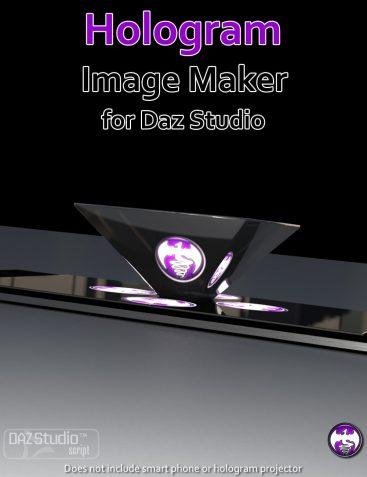 Hologram Image Maker for Daz Studio