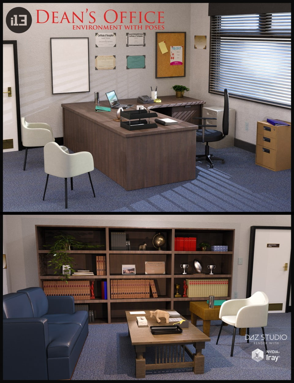 00-main-i13-deans-office-with-poses-daz3d