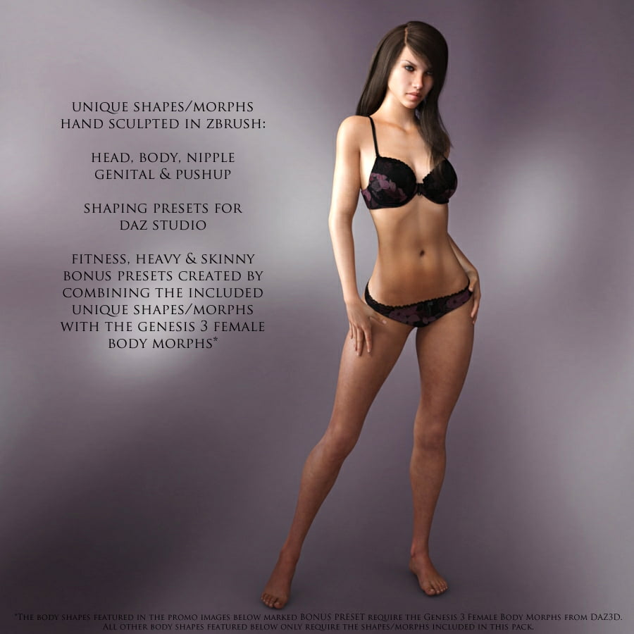 genesis 3 female body morphs download