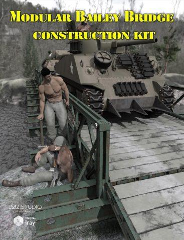 Modular Bailey Bridge Construction Kit