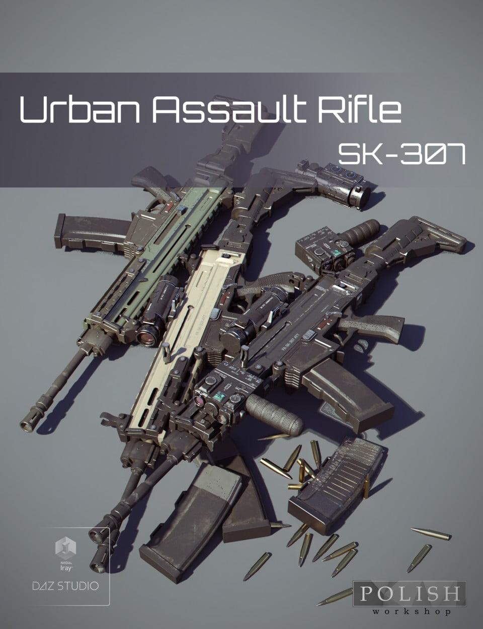 Urban Assault Rifle SK307