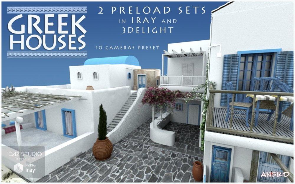 01-greek-houses-daz3d