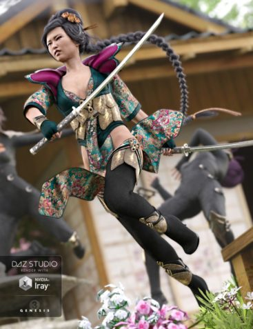 Lotus Maiden Outfit for Genesis 3 Female(s)
