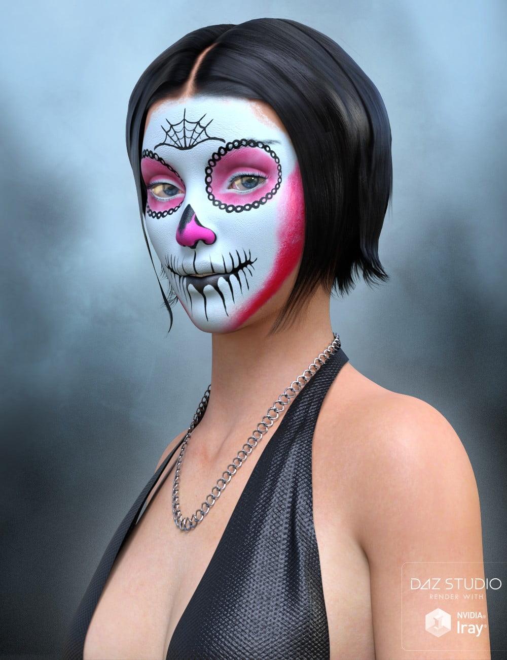 01-sugar-skull-make-up-for-genesis-3-female-daz3d