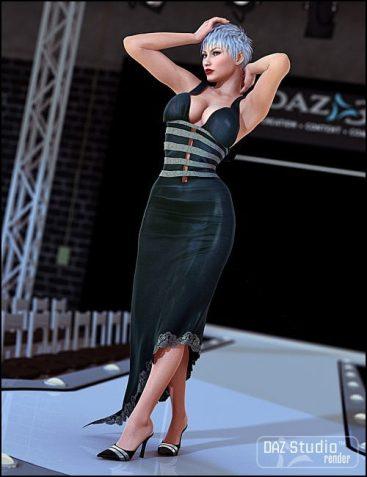 Fashionable Movie Dress Textures