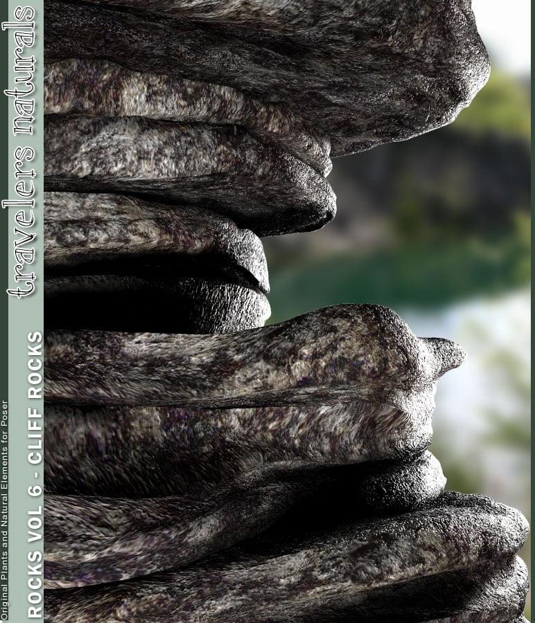Traveler's Naturals - Rocks Vol 6 - Cliff Rocks