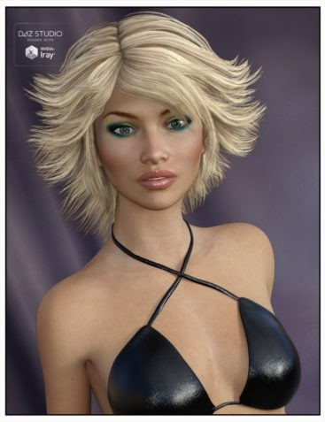 Tammy Hair for Genesis 3 Female(s), Genesis 2 Female(s) and Victoria 4