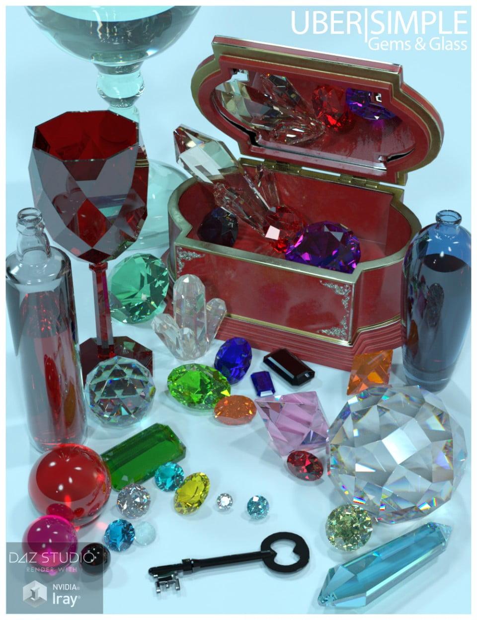 UberSimple – Gems and Glass Merchant Resource
