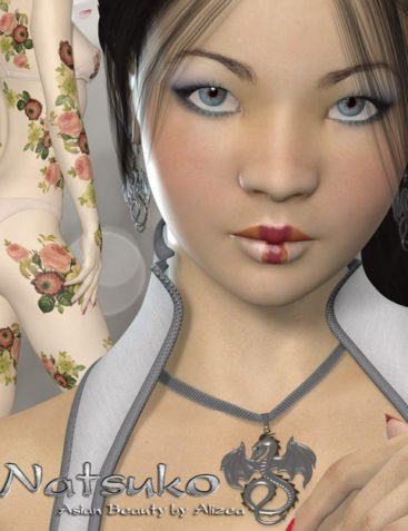 A3D Natsuko Asian Beauty for V4