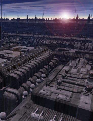 Future Cityscape City Blocks 01