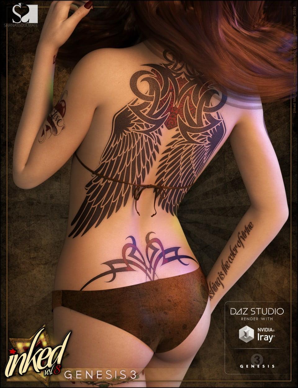 Inked Vol. 8 for Genesis 3 Female(s)