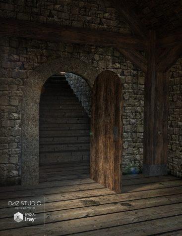 Fantasy Tower Hallway