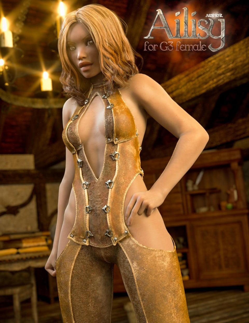 Ailisy for Genesis 3 Female(s)